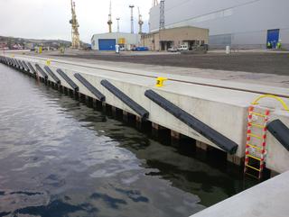 Produktionsstätte für Offshore Windkraftanlagenfundamente in Stettin