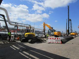 Hecker Bau – Hochwasserschutz Polder 14 Neuhof Süd