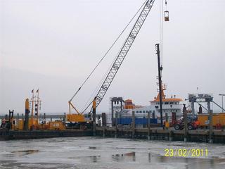Hecker Bau – Anlegebrücke Hafen Langeoog