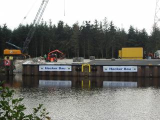 Hecker Bau – Anleger Esterwegen: Bau einer Lade- und Löschstelle