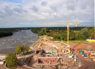 Hecker Bau – Weserkraftwerk Bremen