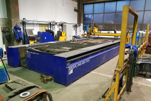 Flame cutting machine Microstep