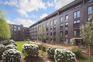 II. BA für 52 Wohnungen, Büro- und Laborgebäude an der Schleidenstraße Hamburg