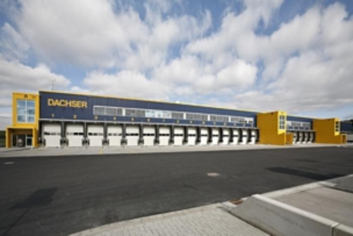 """Logistikzentrums """"Dachser"""" in Hamburg"""