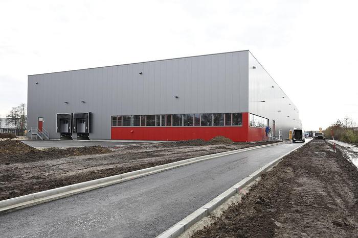 Hansa-Flex Hydraulik GmbH, Zentrallager