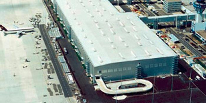 Paketumschlagzentrum Flughafen Köln-Bonn