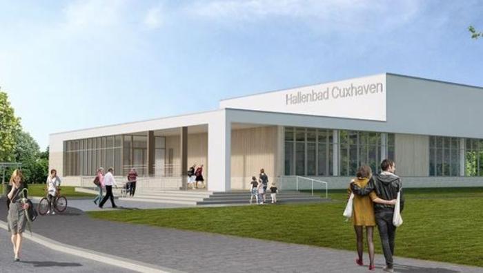 Neubau des Hallenbads Cuxhaven