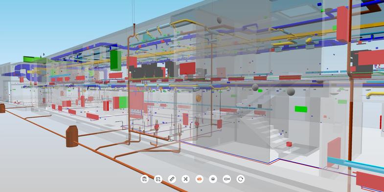 BIM coordination model for all planning disciplines