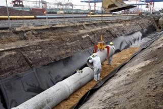 """Entwässerungs- und Straßenbauarbeiten """"Eurogate Container Terminal"""""""