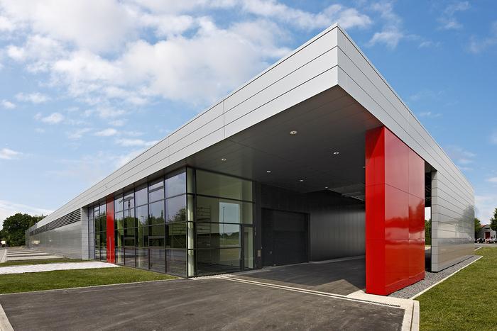 Kunststoff KG Nehl & Co., Produktionshalle