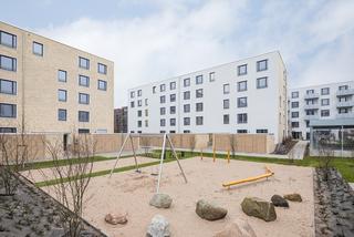 eindrucksvolles bauliches Ensemlbe von 138 Wohnungen und Büroeinheiten
