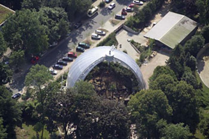 Orang-Utan-Haus Tierpark Hagenbeck