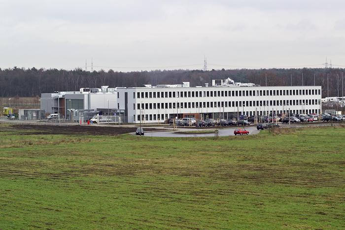 """Labor- und Verwaltungsgebäude """"PolymerLatex GmbH"""" in Marl"""