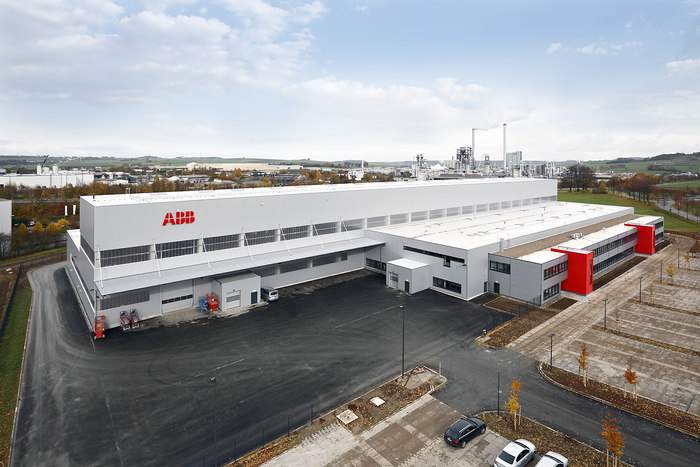 Produktionshalle für ABB in Brilon