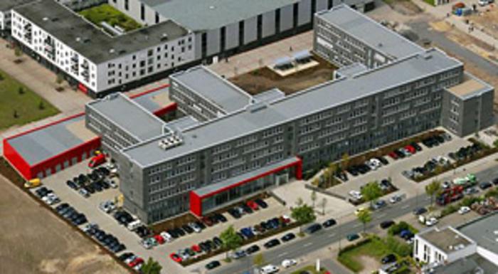•Verwaltungsgebäude Bezirksregierung II Münster/Westf.