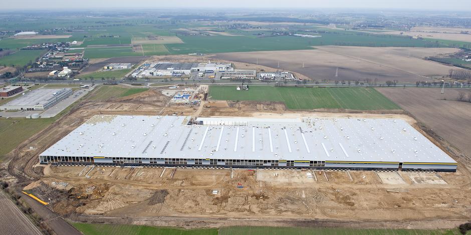 Großauftrag von Amazon: Bau eines Logistikzentrums in Polen