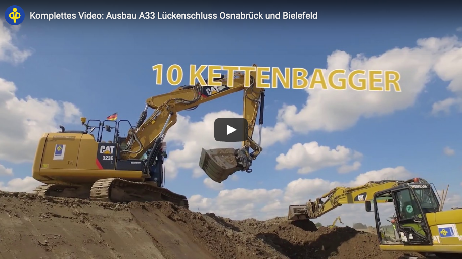 Full video: Expansion of A33 gap closure Osnabrück and Bielefeld