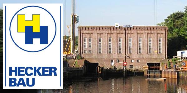 Referenzen Ingenieur- und Wasserbau bei Hecker Bau