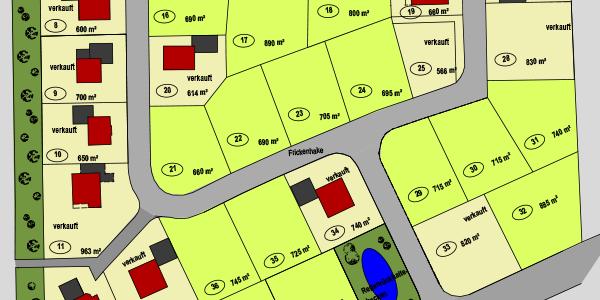 """Download des Lageplans für das Baugebiet """"Wickenkamp II"""""""