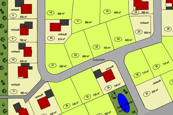 Projektentwicklung Referenzen Grundstücke