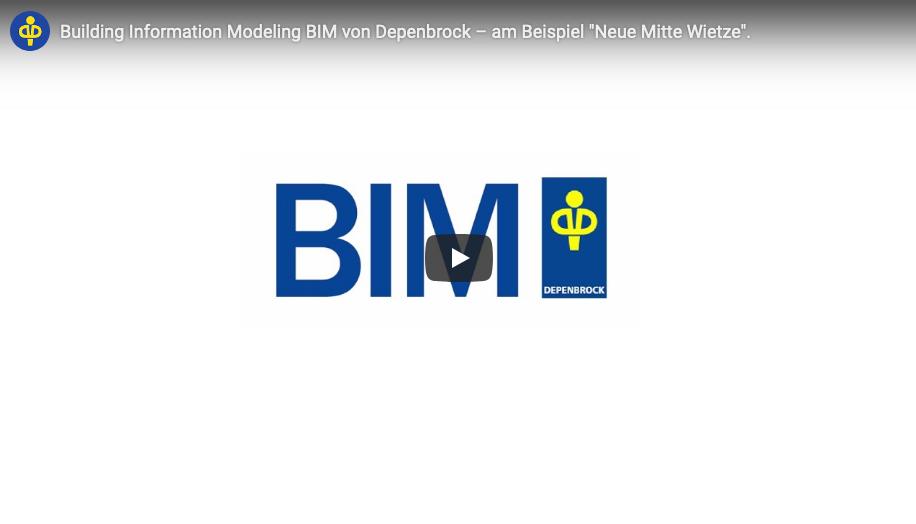 Building Information Modeling bei Depenbrock – alle Stufen im Video dargestellt.