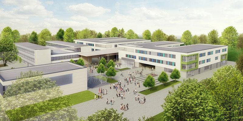 Planung und Erweiterungsneubau sowie Sanierung der Ernst-Reuter-Schule (KGS) der Stadt Pattensen inkl. Entwurf und Genehmigungsplanung.