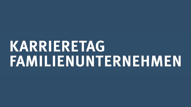 Logo 22. Karrieretag Familienunternehmen