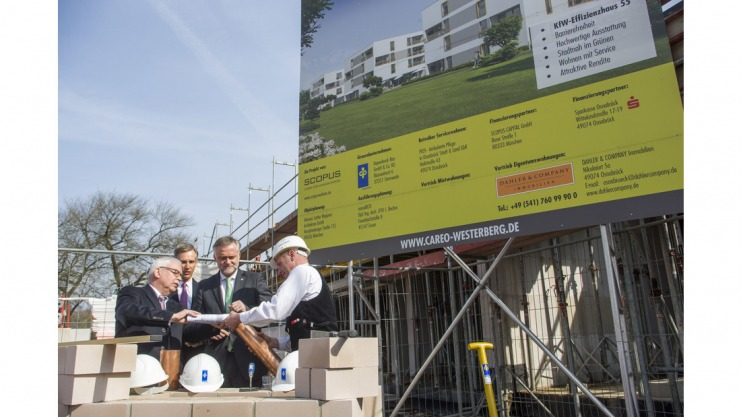NOZ: Grundsteinlegung Careo Westerberg
