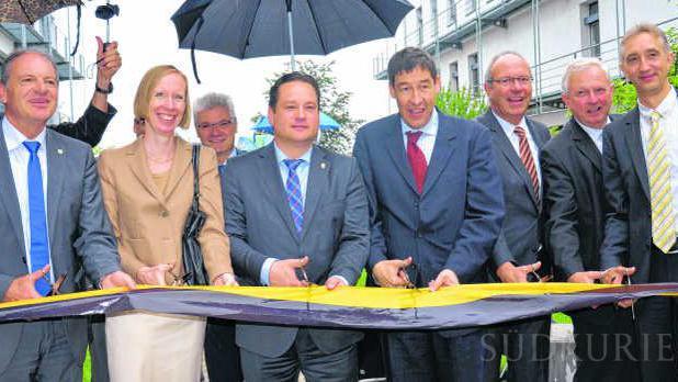 CVUA Sigmaringen weiht zweiten Bauabschnitt ein