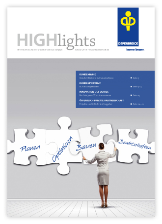 Depenbrock Kundenmagazin Highlights 2014